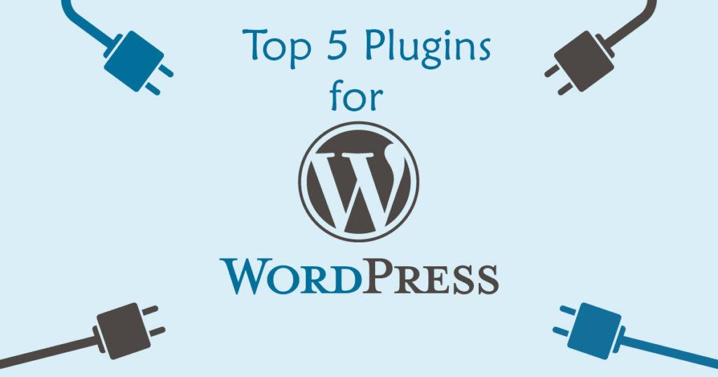 Top 5 Plugins for WordPress