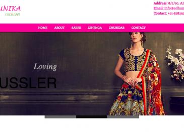 Boutique Website Development Portfolio