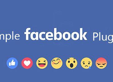 Simple Facebook Plugins WP Plugin