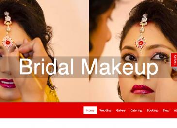 Wedding Planner & Caterer Website Development & SEO Portfolio