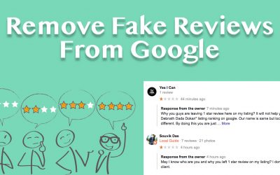 Remove Fake Reviews From Google