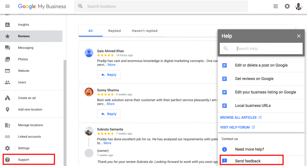 report on google for fake reviews