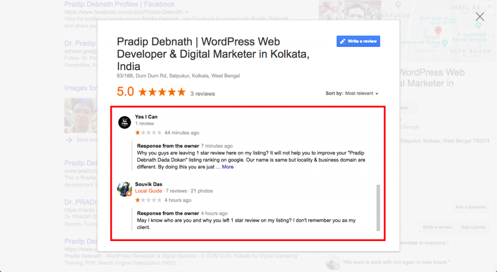 Respond Professionally to Remove Fake Reviews on Google